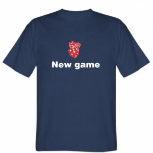 T-shirt New game