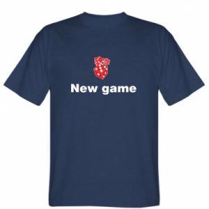 Koszulka męska New game