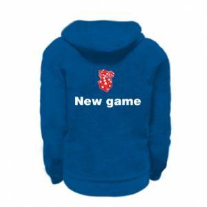 Bluza na zamek dziecięca New game