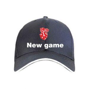 Czapka New game
