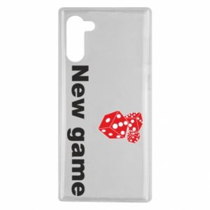 Samsung Note 10 Case New game