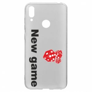 Huawei Y7 2019 Case New game
