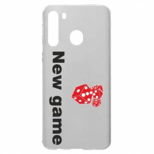Samsung A21 Case New game