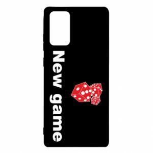 Etui na Samsung Note 20 New game