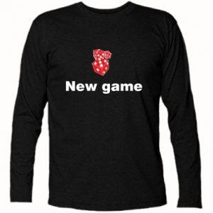 Koszulka z długim rękawem New game