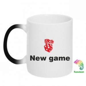 Kubek-kameleon New game