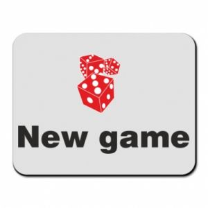 Podkładka pod mysz New game