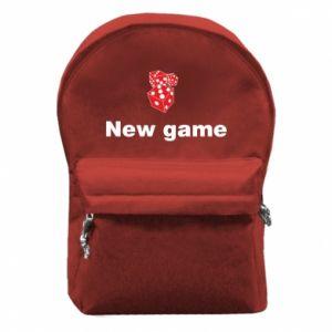 Plecak z przednią kieszenią New game