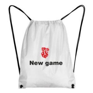 Plecak-worek New game