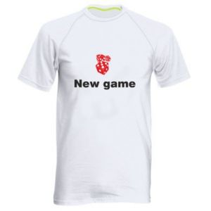Men's sports t-shirt New game