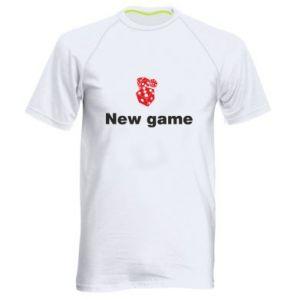 Męska koszulka sportowa New game
