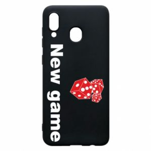 Samsung A30 Case New game