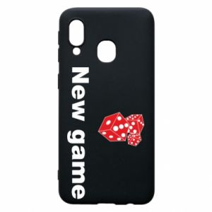 Samsung A40 Case New game