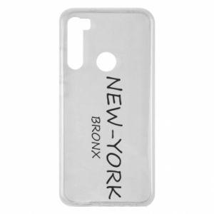 Etui na Xiaomi Redmi Note 8 New-York Bronx