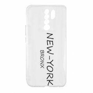 Etui na Xiaomi Redmi 9 New-York Bronx