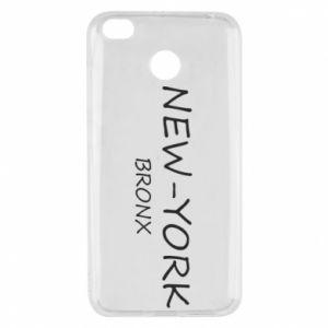 Etui na Xiaomi Redmi 4X New-York Bronx