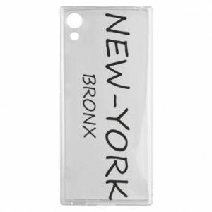 Etui na Sony Xperia XA1 New-York Bronx