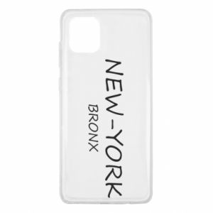 Etui na Samsung Note 10 Lite New-York Bronx