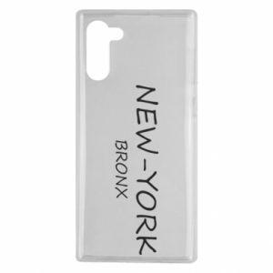 Etui na Samsung Note 10 New-York Bronx