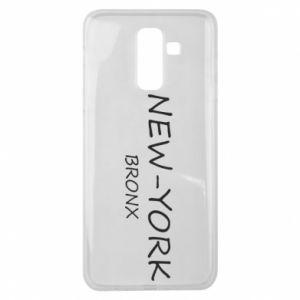 Etui na Samsung J8 2018 New-York Bronx