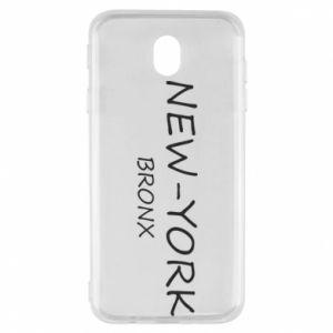 Etui na Samsung J7 2017 New-York Bronx