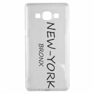Etui na Samsung A5 2015 New-York Bronx