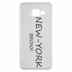 Etui na Samsung A3 2016 New-York Bronx
