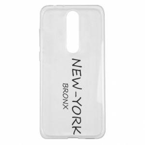 Etui na Nokia 5.1 Plus New-York Bronx