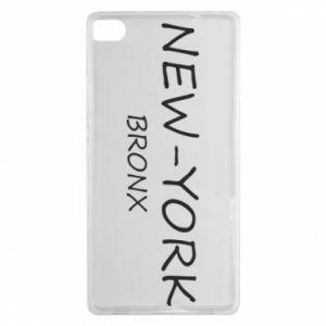 Etui na Huawei P8 New-York Bronx