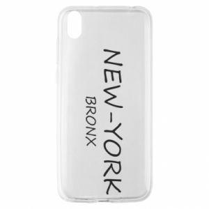 Etui na Huawei Y5 2019 New-York Bronx