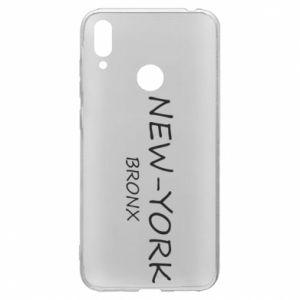 Etui na Huawei Y7 2019 New-York Bronx