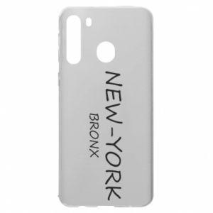 Etui na Samsung A21 New-York Bronx