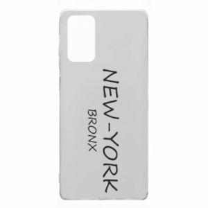 Etui na Samsung Note 20 New-York Bronx