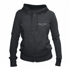 Women's zip up hoodies New-York Bronx - PrintSalon