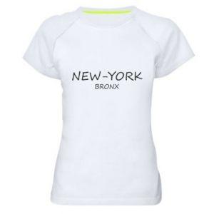 Women's sports t-shirt New-York Bronx