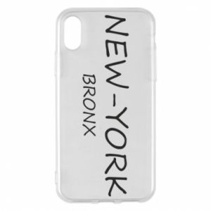 Etui na iPhone X/Xs New-York Bronx
