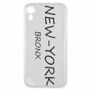 Etui na iPhone XR New-York Bronx