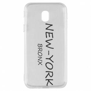 Etui na Samsung J3 2017 New-York Bronx