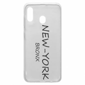 Phone case for Samsung A20 New-York Bronx