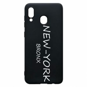 Phone case for Samsung A30 New-York Bronx