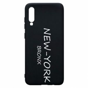 Phone case for Samsung A70 New-York Bronx