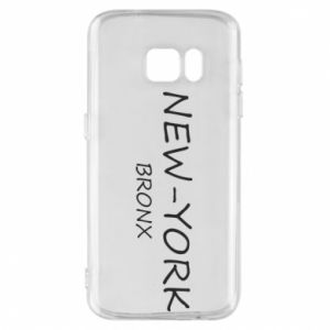 Phone case for Samsung S7 New-York Bronx