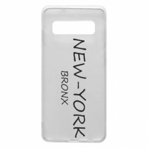Phone case for Samsung S10 New-York Bronx