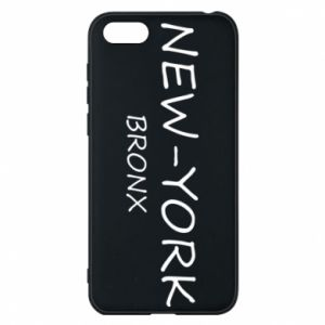 Phone case for Huawei Y5 2018 New-York Bronx