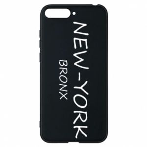 Phone case for Huawei Y6 2018 New-York Bronx