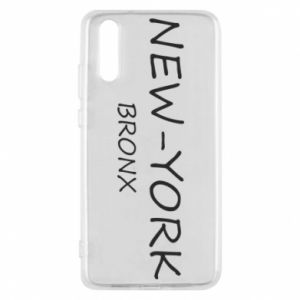 Phone case for Huawei P20 New-York Bronx