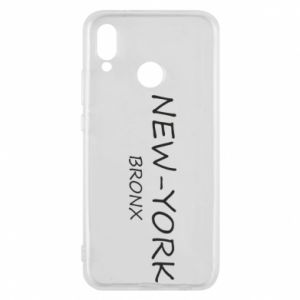 Phone case for Huawei P20 Lite New-York Bronx