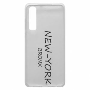 Phone case for Huawei P30 New-York Bronx