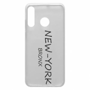 Phone case for Huawei P30 Lite New-York Bronx