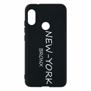 Phone case for Mi A2 Lite New-York Bronx